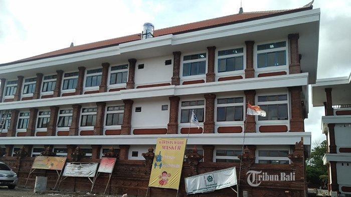 Pembangunan SMPN 14 Denpasar Baru 95 Persen, Masa Kontrak Habis 5 Hari Lagi