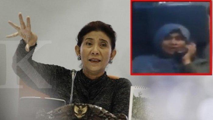 Pembelaan Menteri Susi yang Tak Mau Disamakan dengan Neno Warisman Soal Penggunaan Mikrofon
