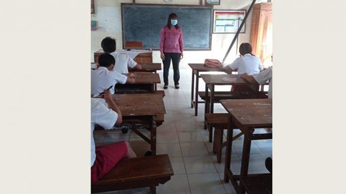 Gianyar Pertama Laksanakan PTM, Mulai Senin 20 September 2021, Kantin Sekolah Tidak Boleh Dibuka