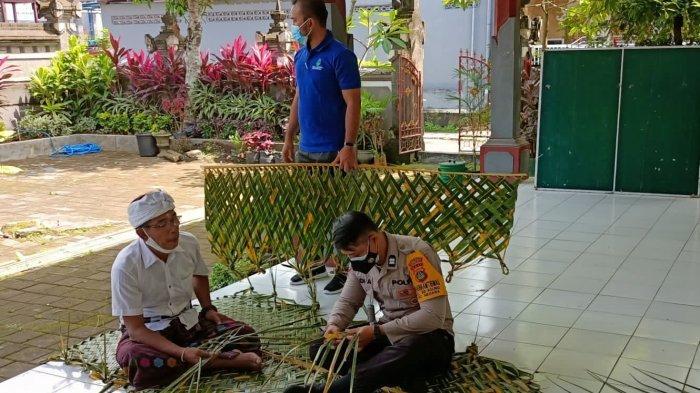 Bhabinkamtibmas Hingga Polsek Negara Bersinergi Dengan Staf Kelurahan Membuat 'Kelabang'