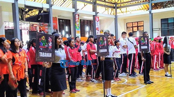 Ini Pesan Ketua Pengprov Perbasi Bali Pada Para Atlet Basket Porprov Bali 2019