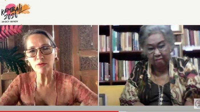 Pembukaan KEMBALI 2020 Lewat Virtual, Toeti Heraty Raih Penghargaan Lifetime Achievement Award