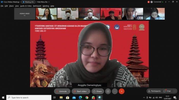 TCI Unud Gelar Pelatihan Bahasa Mandarin Online, Digelar Selama 2 Bulan Secara Gratis Bagi Mahasiswa