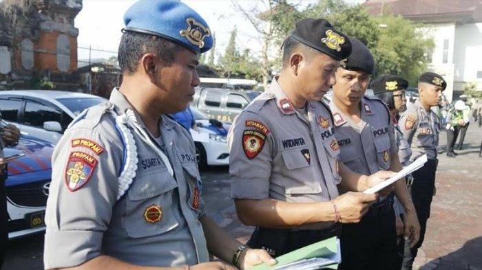 Polda Bali Cek Kelengkapan Personel Operasi Lilin Agung 2019
