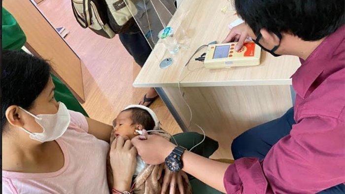Deteksi Gangguan Pendengaran Pada Bayi, RSU Kasih Ibu Saba Sediakan Alat OAE
