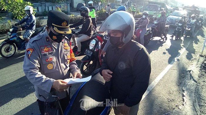 PPKM Darurat di Denpasar: Mulai Senin Esok, Penyekatan Diperluas hingga Pintu Masuk Desa/Kelurahan