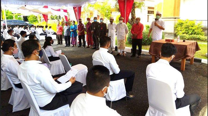 Lakukan Pemantauan SKD CPNS Hari Pertama, Sekda Bali Jamin Seleksi Berjalan Transparan