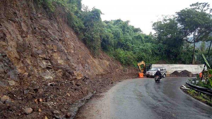 Antisipasi Bencana, Pemerintah Pusat Tata Jalan di Bukit Berina Karangasem Bali