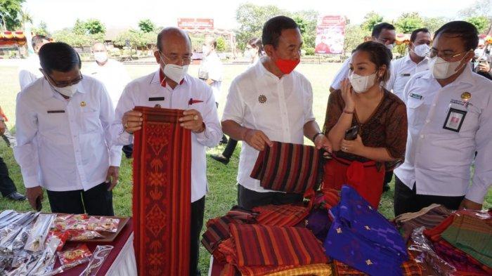 Jaga Stabilitas Harga Jelang Hari Raya, Pemkab Karangasem Gelar Pasar Gotong Royong Krama Bali