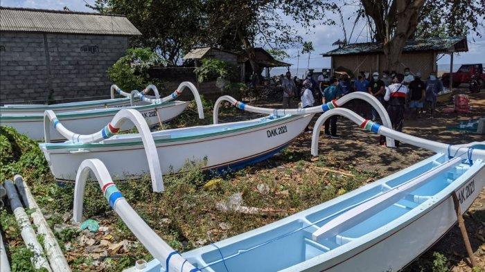 Kelompok Nelayan di Klungkung Dapat Jukung Gratis, Dana Bersumber dari DAK 2021 Senilai Rp 406 Juta