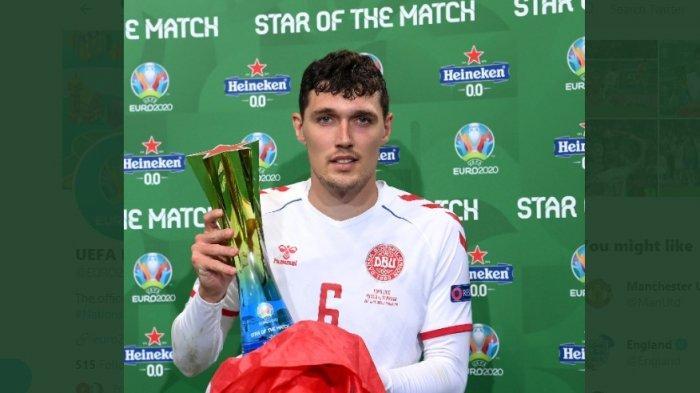 Secara Dramatis, Denmark Melaju ke Babak Selanjutnya, Christensen Jadi Man of The Match