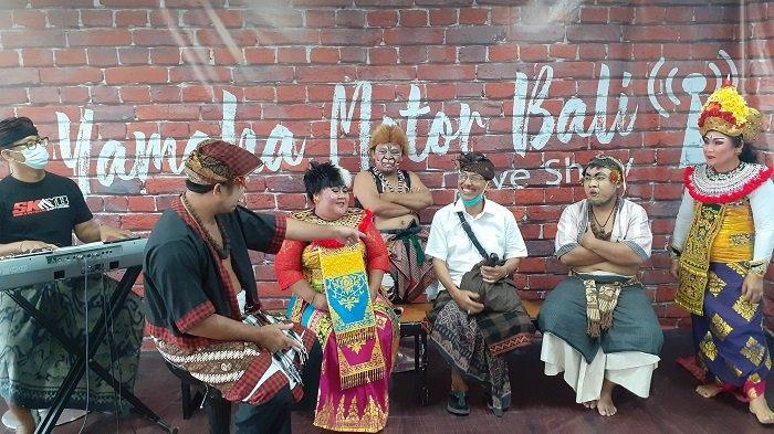 Sosok Made Muji, Bintang Tamu pada Acara Makedekan Ajak Clekontong Mas Yamaha dan Tribun Bali
