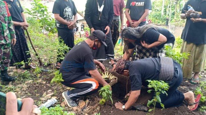 Bersinergi dengan Pihak Desa, Padukuhan Siddha Swasti Tanam Seribu Pohon Buah di Desa Pikat Bali