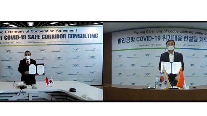 Terkait Penerapan Koridor Sehat, Angkasa Pura GandengBandara Internasional Incheon Korsel
