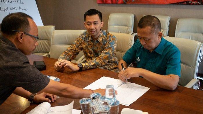 Buka Tahun 2020, BPR Lestari Bali Kerja Sama Penyaluran Kredit UMKM Rp 100 Miliar dengan Bank BJB