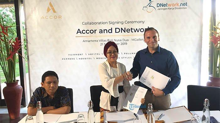 Accor dan DNetwork Teken Mou untuk Tingkatkan Peluang Kerja Penyandang Disabilitas di Bali