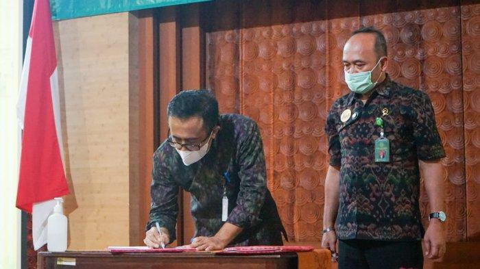 Wali Kota Jaya Negara Tandatangani Nota Kesepahaman dengan Pengadilan Negeri Denpasar