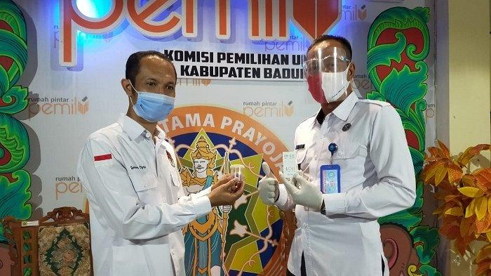 Upaya Ciptakan Pilkada Bebas Narkoba, KPU Badung Dites Urine oleh BNNK