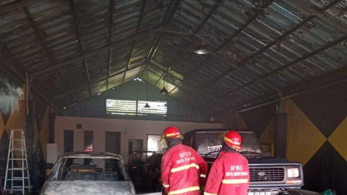 Terjadi Kebakaran Showroom Mobil di Denpasar, Kerugian Capai Ratusan Juta