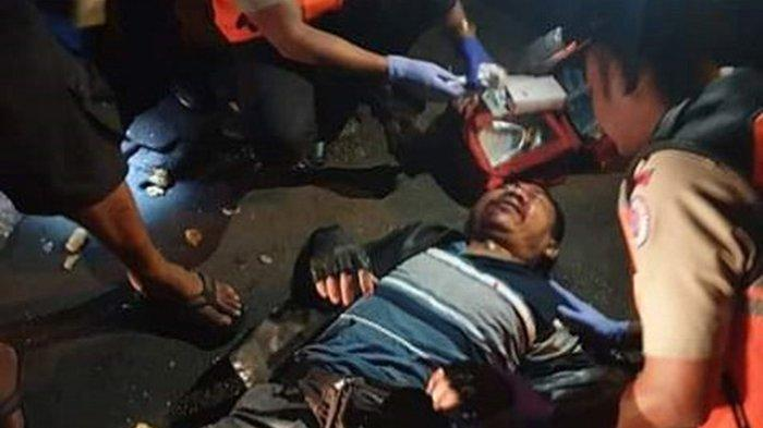 Tiga Orang Jadi Korban Kecelakaan Dini Hari Tadi di Denpasar, Wayan Wiji Dibawa ke RSUP Sanglah