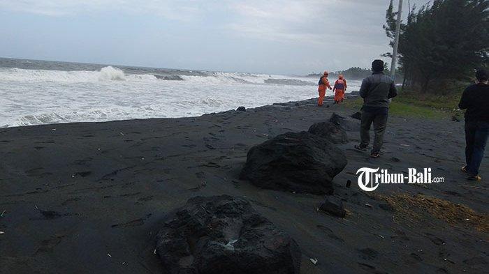 UPDATE Korban Terseret Arus di Pantai Pering Gianyar, Raberboad Tidak Bisa Turun ke Laut