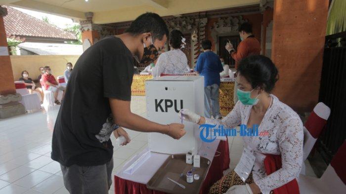 Pantau Penerapan Protokol Kesehatan di 10 TPS, GTPP Optimis Tak Ada Klaster Pilkada di Denpasar