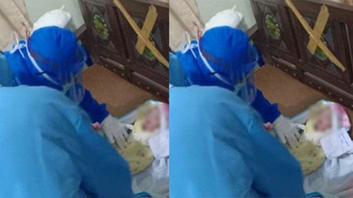 BREAKING NEWS! Bayi Perempuan Merintih dan Pucat Ditemukan Warga di Depan Panti Asuhan di Sidakarya