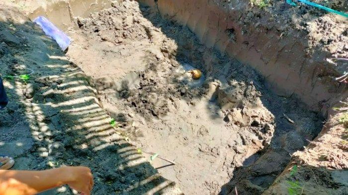 Penemuan Kerangka Tulang Tengkorak di Desa Pengambengan Jembrana