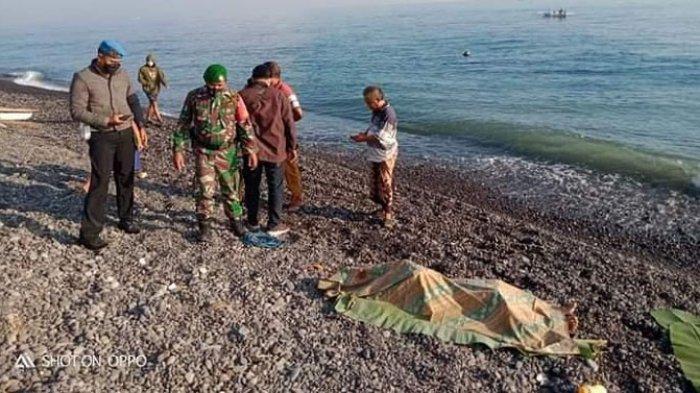 BREAKING NEWS - Mayat Tanpa Busana Ditemukan di Dasar Laut Desa Tejakula Buleleng