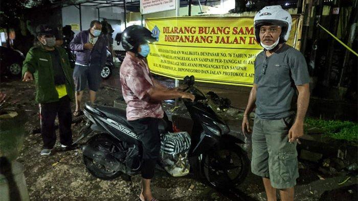 1 Pelanggar Membuang Sampah Sembarangan Diamankan Petugas Desa Dauh Puri Kelod, 6 Januari Disidang