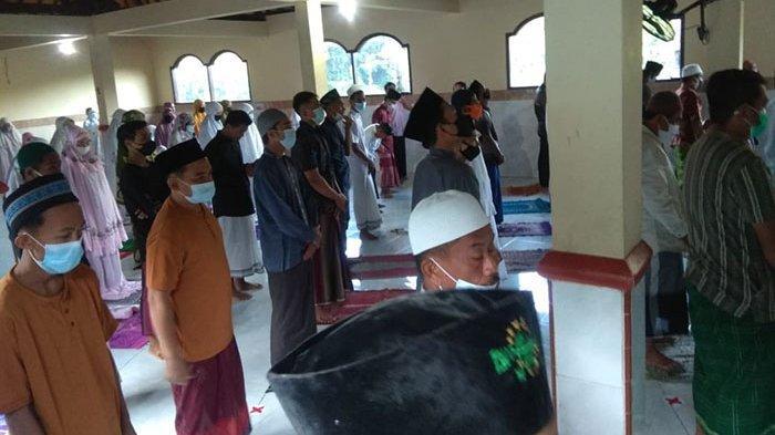Pengamanan Sholat Id di Moshola Akobah Yappenatim 45 Gianyar, Kapolsek Bersyukur Berjalan Lancar