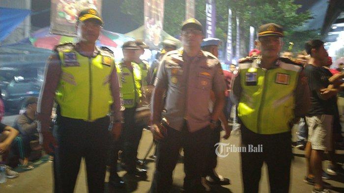 800 Personel Gabungan Amankan Laga Bali United vs Persib Bandung Tadi Malam
