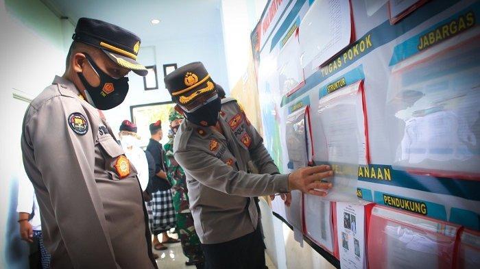Kabid Humas Polda Bali Apresiasi Pendirian Posko Tangguh Dewata Desa Dauh Peken Tabanan