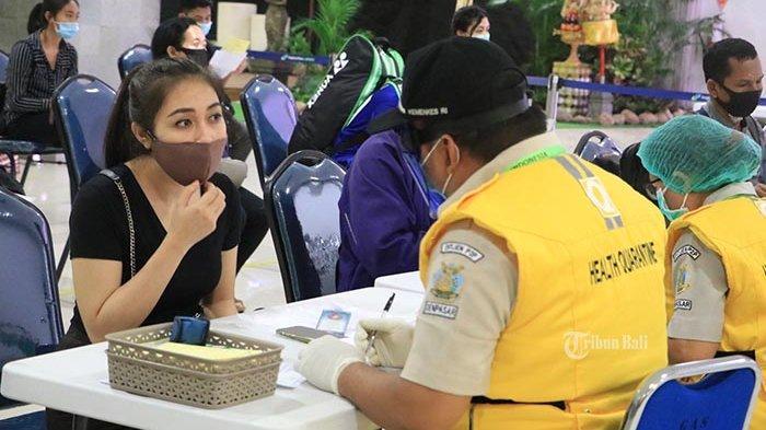 Wajib Bawa Hasil Test Swab ke Bali, Kemarin dan Hari Ini Tidak Ada Kedatangan Penumpang Domestik