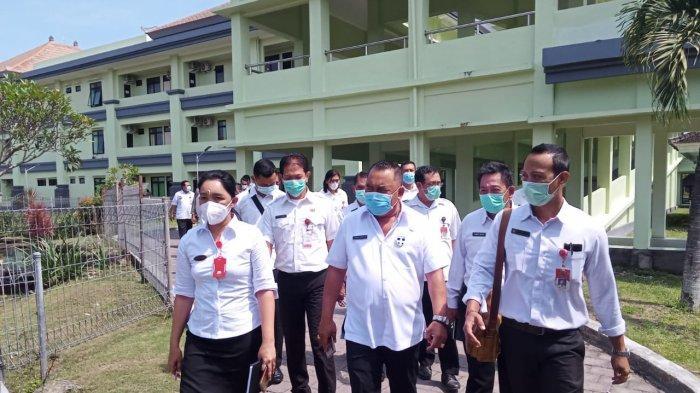 Maksimalkan Pelayanan Kesehata, Bupati Tamba Tinjau Sarana IPAL Hingga Vaksinasi di RSU Negara Bali