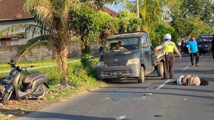 Kecelakaan di Jalan Tanah Putih Badung Diduga Karena Mabuk, Begini Kondisi Korban