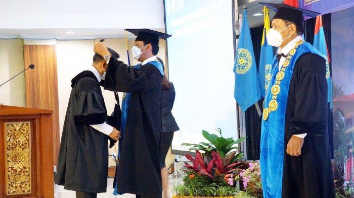 Universitas Udayana Lakukan Pengukuhan 14 Guru Besar