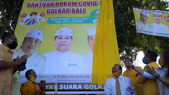 Bentuk Satgas Bantuan Hukum, Golkar Bali Siap Advokasi Korban PHK Akibat Covid-19