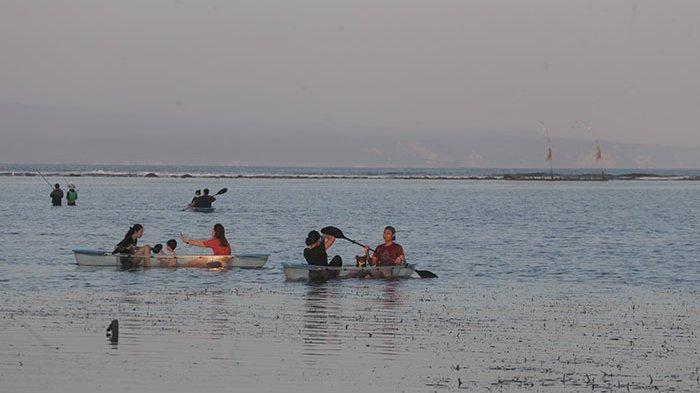 Viral di Medsos, Wisata Kano Bening di Pantai Karang Sanur Sedang Ramai Digandrungi Kawula Muda