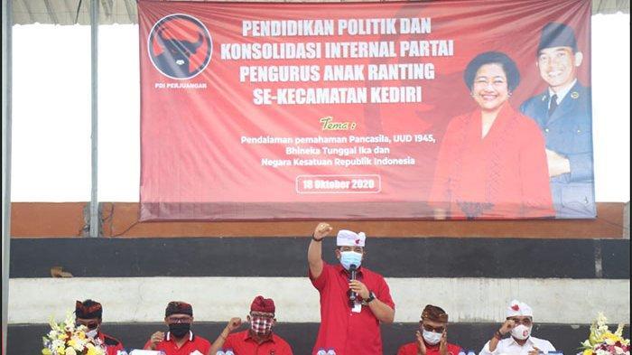 Kader PDIP Kediri Gelar Konsolidasi Internal, Dukung Penuh Paket Jaya-Wira di Pilkada Tabanan