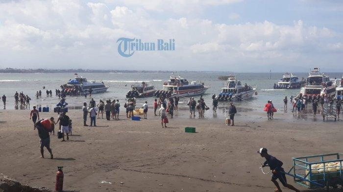 Libur Panjang Idul Fitri, Peningkatan Penyeberangan di Sanur Menuju Nusa Penida Capai 50 Persen