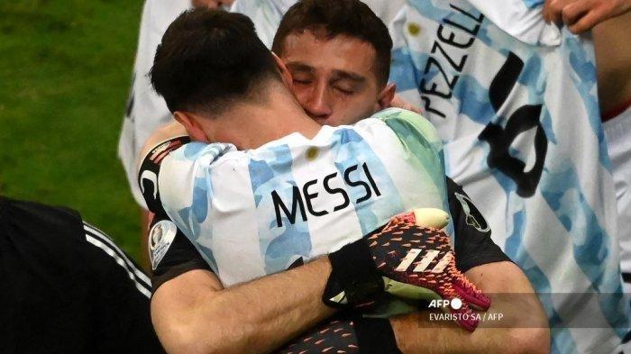 Kiper & Pahlawan Argentina Juarai Copa America 2021 Bareng Messi, Martinez: Saya Rela Mati Untuknya