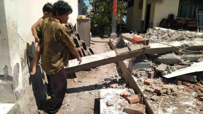 Robohkan Bangunan, Pekerja Proyek di SDN 2 Panjer Denpasar Bali Tertimpa Pilar Beton