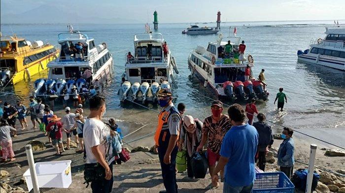 Libur Panjang Imlek, Tak Ada Lonjakan Penumpang di Pelabuhan Sanur Denpasar