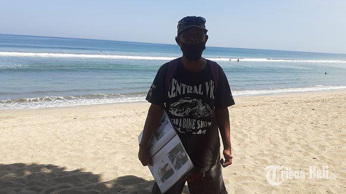 Kisah Penjaja Jasa Tato Temporer di Pantai Kuta, Pernah Seminggu Tanpa Pelanggan Akibat Pandemi