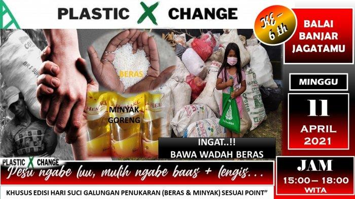Berlokasi di Tabanan, Warga Bisa Tukar Sampah dengan Beras Hingga Bumbu Dapur, Catat Waktunya