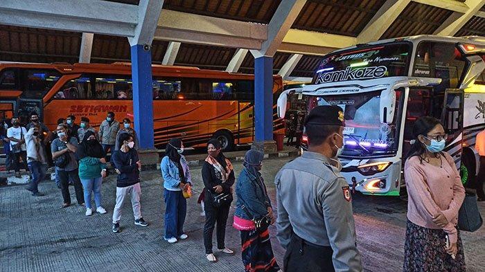 Harus Membayar Biaya Rapid Antigen Rp 170 Ribu, Seorang Penumpang di Terminal Mengwi Badung Protes