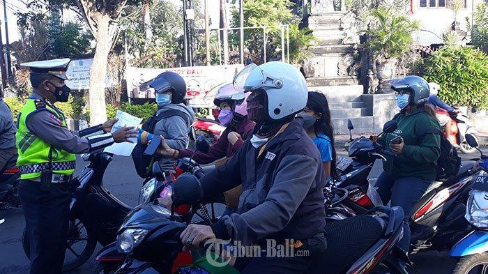 PPKM Darurat di Denpasar Makin Diperketat, Ada Tambahan 4 Pos Penyekatan, Kini Jadi 11 Titik