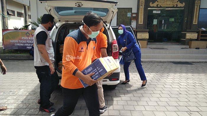Produksi Sendiri, Inez Cosmetics Sumbangkan 1.000 Hand Sanitizer ke BPBD Provinsi Bali