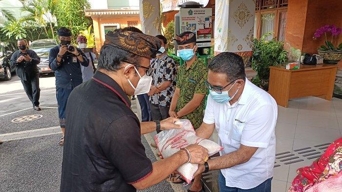Pemkot Denpasar Gelontorkan 2 Ton Beras untuk Panti Asuhan dan LKSA Se-Kota Denpasar